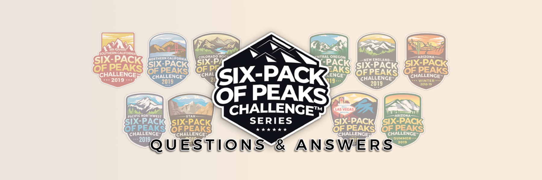Six-Pack of Peaks Questions & Answers Discussion Forum