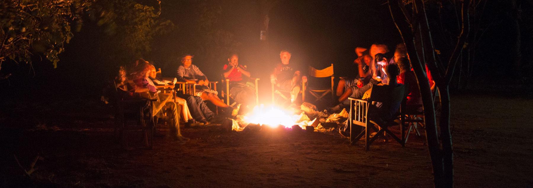 Gather around the campfire