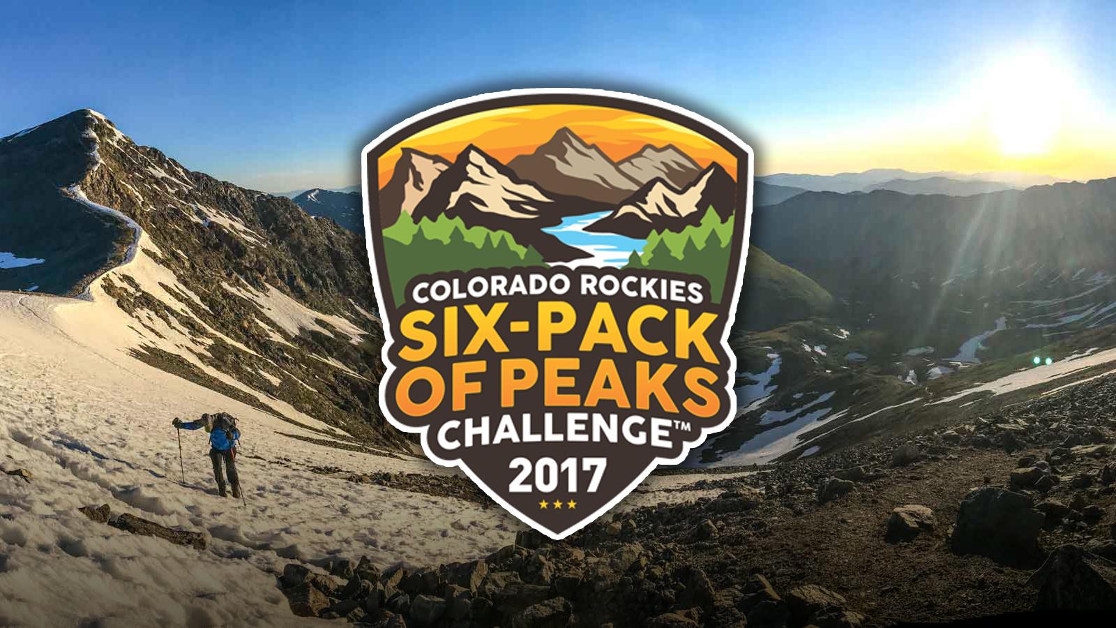 Announcing the Inaugural Colorado Rockies Six-Pack of Peaks Challenge™