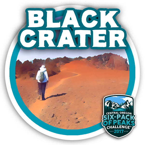 I hiked Black Crater