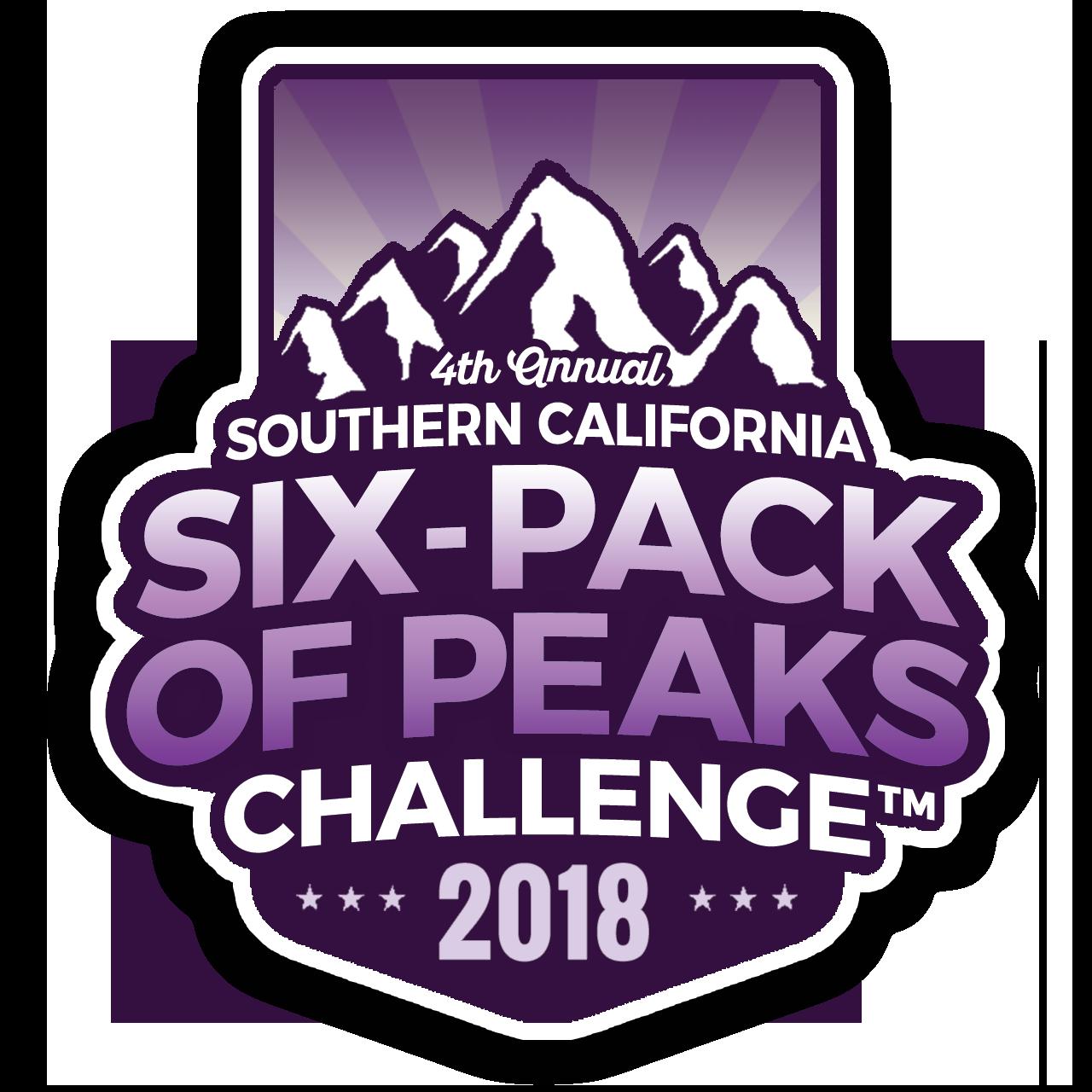 2018 SoCal Six-Pack of Peaks Challenge