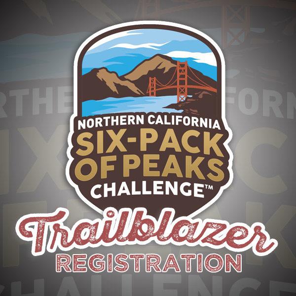 2018 Northern California Six-Pack of Peaks Challenge Trailblazer Registration