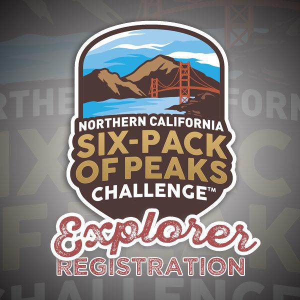 2018 Northern California Six-Pack of Peaks Challenge - Explorer Registration