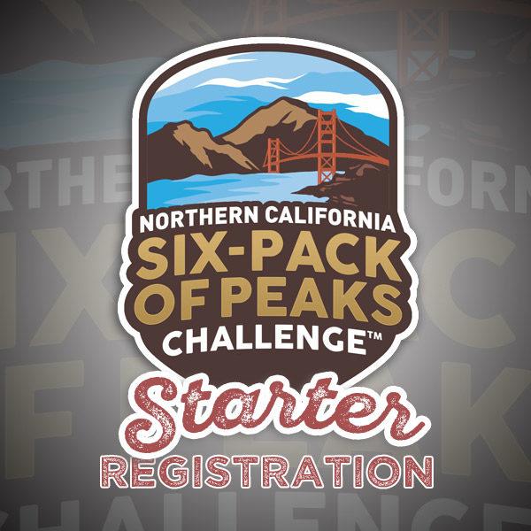 Northern California Six-Pack of Peaks Challenge - Starter Registration
