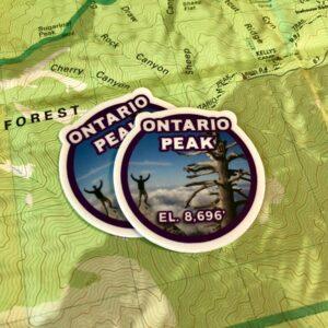 Ontario Peak Sticker