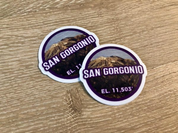 San Gorgonio Sticker