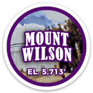 Mount Wilson Sticker
