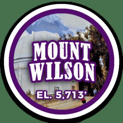 Mount Wilson Sticker