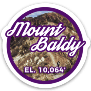 Mount Baldy Sticker