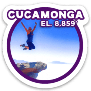 Cucamonga Peak Sticker