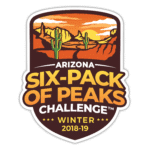 2018/19 Arizona Winter Six-Pack of Peaks Challenge