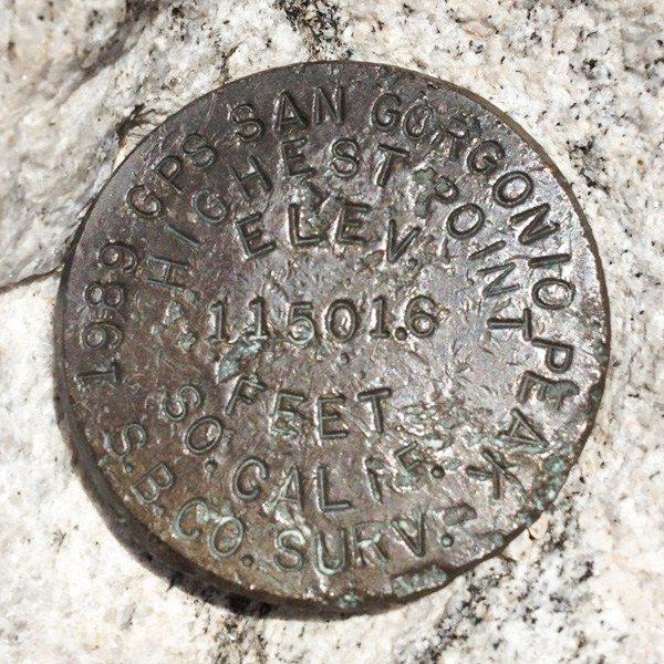 San Gorgonio Benchmark