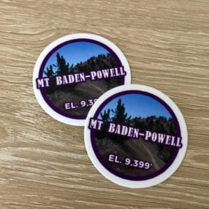 Mount Baden-Powell sticker