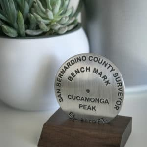 Cucamonga Peak Benchmark in Base