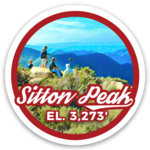 Sitton Peak sticker