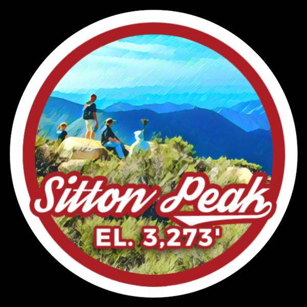 Sitton Peak sticker