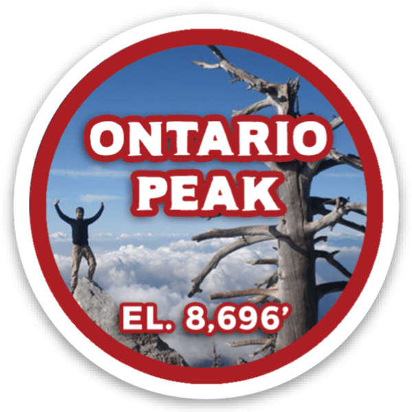 Ontario Peak sticker