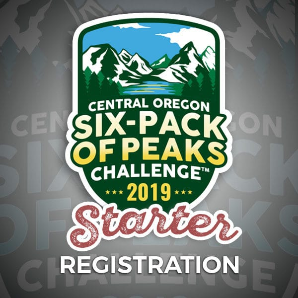 2019 Central Oregon Six-Pack of Peaks Challenge Starter Registration