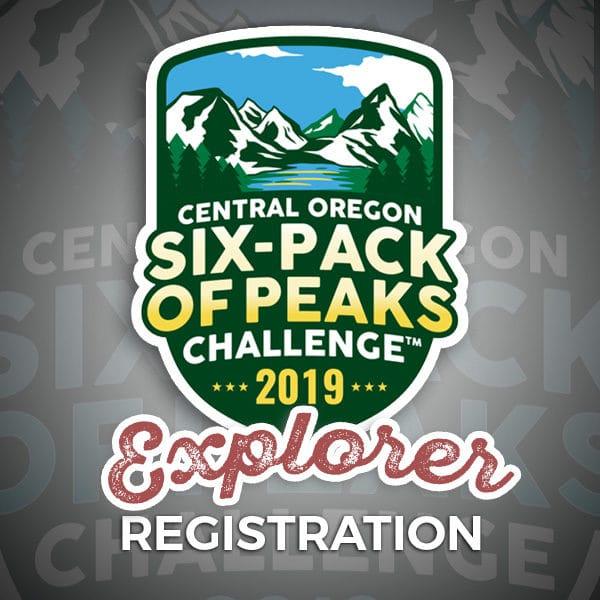 2019 Central Oregon Six-Pack of Peaks Challenge Explorer Registration