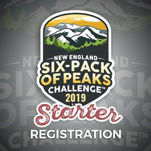 2019 New England Six-Pack of Peaks Challenge Starter Registration