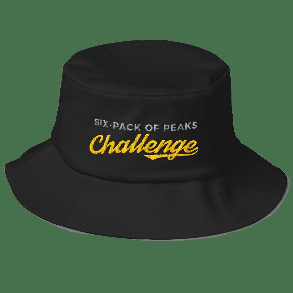 257661c20cb Old School Six-Pack of Peaks Bucket Hat - Social Hiker