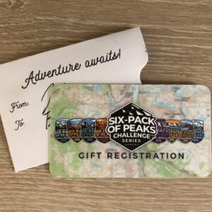 Adventure Awaits - Six-Pack Gift Card