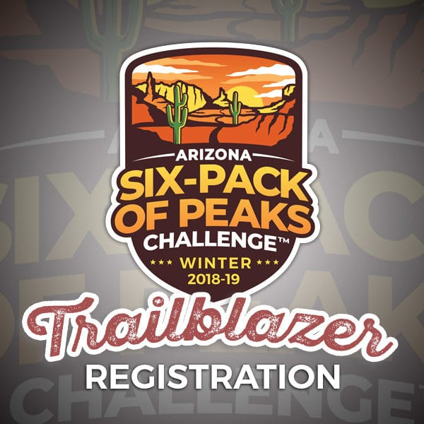 2019 Arizona Winter Six-Pack of Peaks Trailblazer Registration