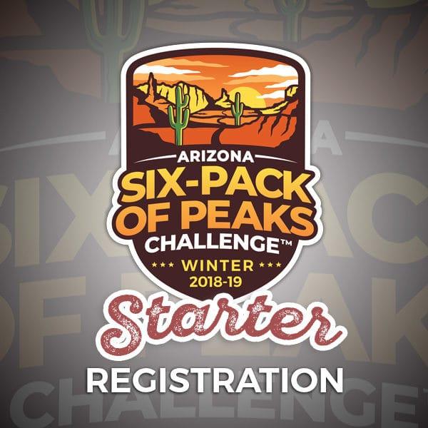2019 Arizona Winter Six-Pack of Peaks Starter Registration