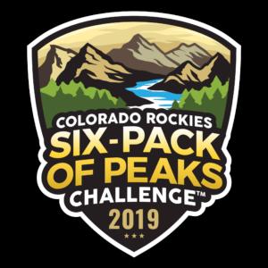 2019 Colorado Rockies Six-Pack of Peaks Challenge logo