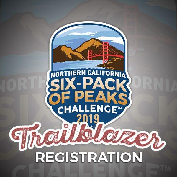 2019 NorCal Six-Pack of Peaks Challenge - Trailblazer Registration