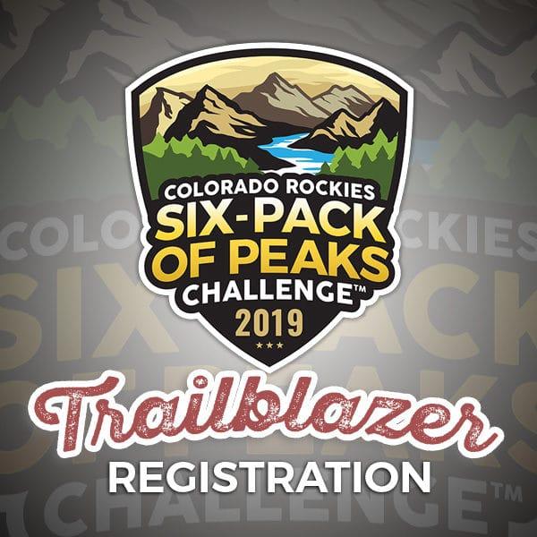 2019 Colorado Rockies Six-Pack of Peaks Challenge - Trailblazer Registration