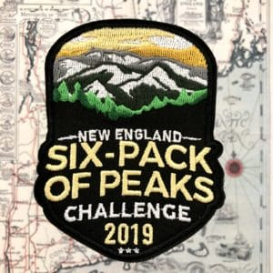 2019 New England Six-Pack of Peaks Challenge Patch