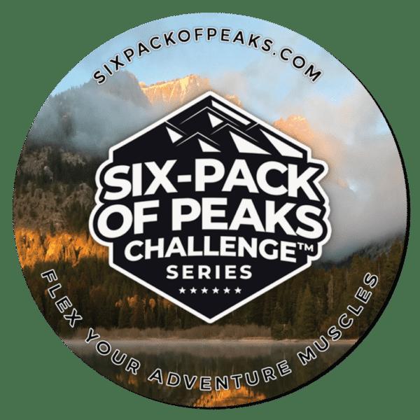 Six-Pack of Peaks Series Coaster