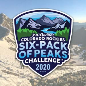 2020 Colorado Rockies Six-Pack of Peaks Challenge