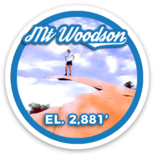Mount Woodson Sticker
