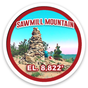 Sawmill Mountain Sticker
