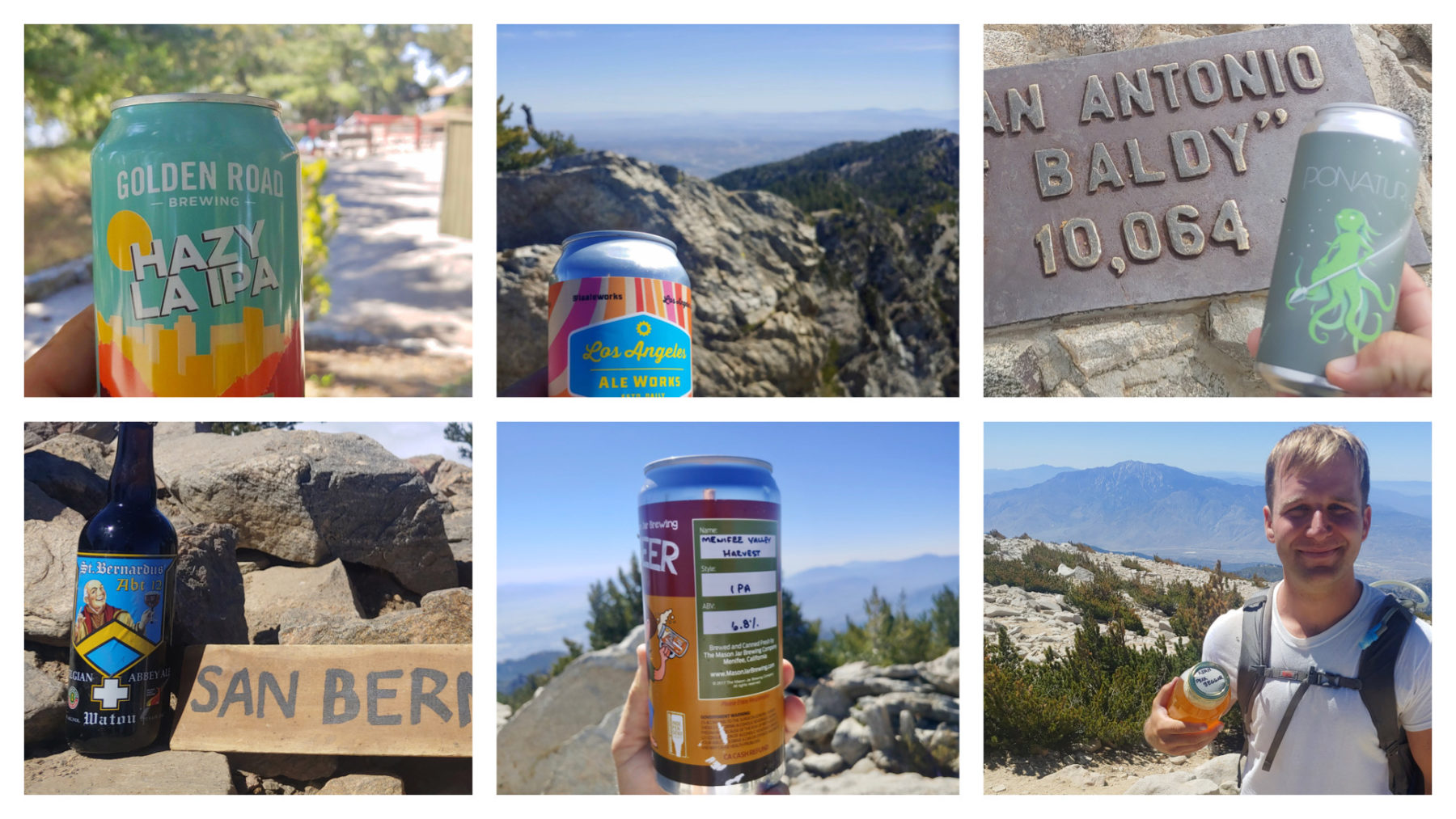 Six-Pack of Peaks Challenge -- Summit Beer Pairings