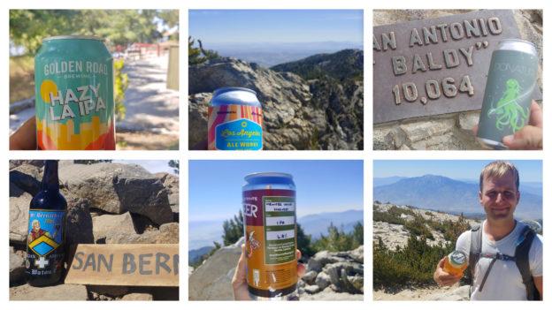 Six-Pack of Peaks Challenge -- Summit Beer Pairings
