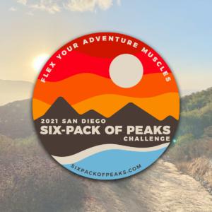 2021 San Diego Six-Pack of Peaks Challenge