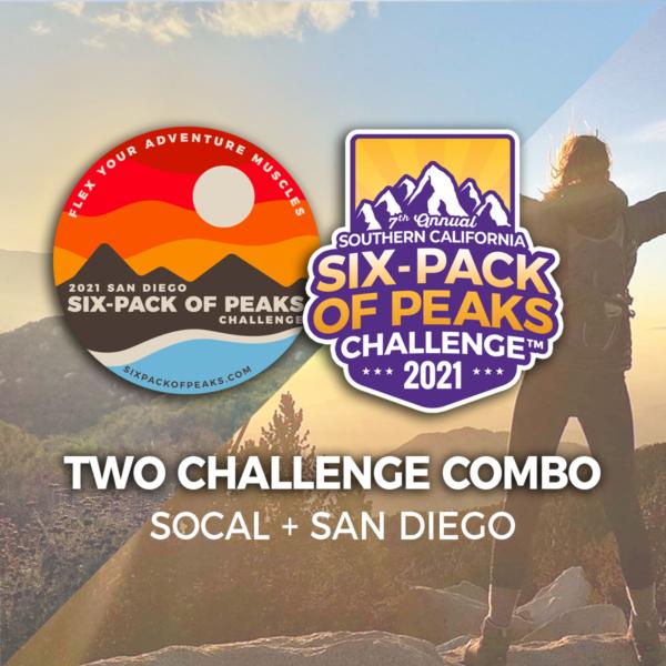 2021 SoCal + San Diego Six-Pack of Peaks Challenge