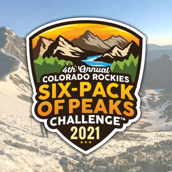 2021 Colorado Rockies Six-Pack of Peaks Challenge