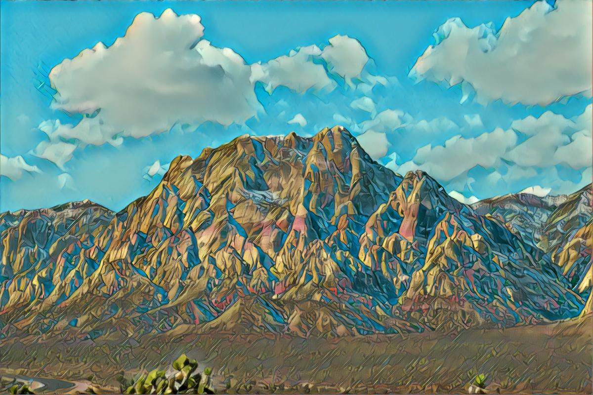 Mount Wilson (Vegas) artwork