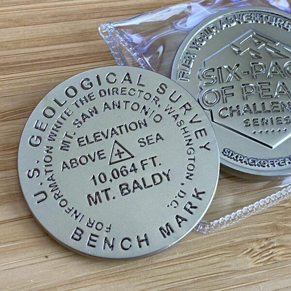 Mount San Antonio (Mt Baldy) Benchmark Coin