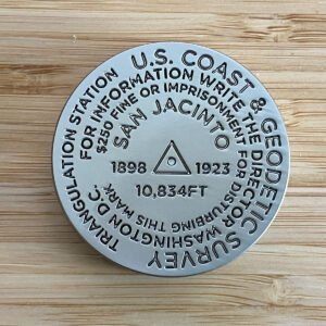 Mount San Jacinto Benchmark Challenge Coin